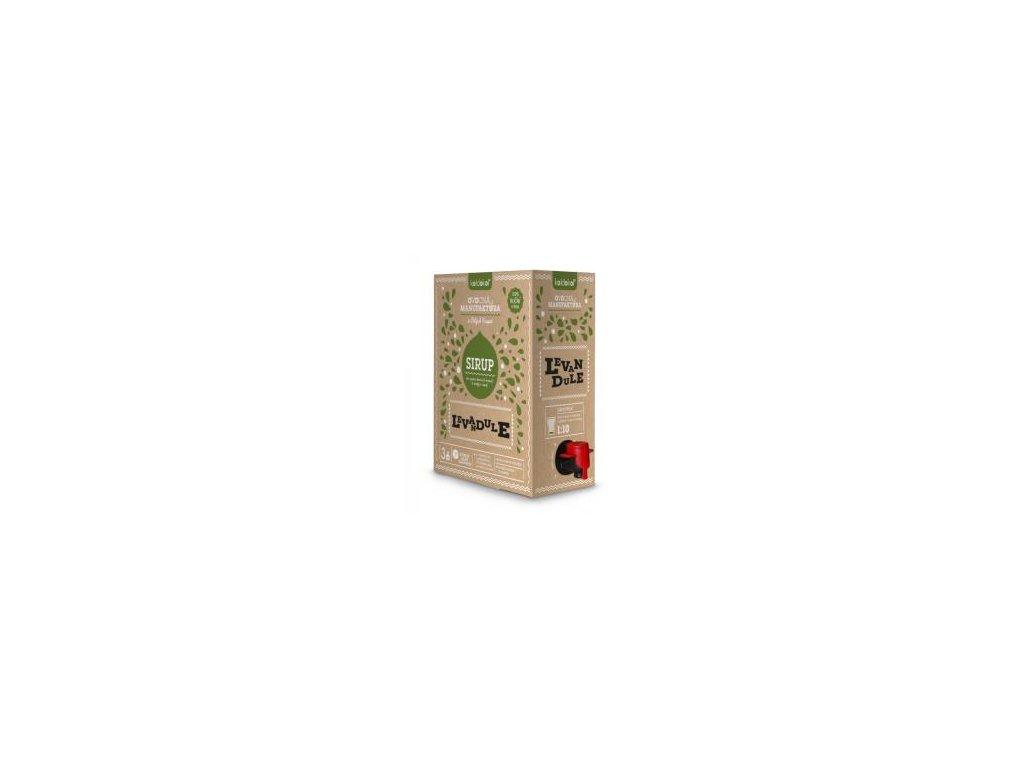 Koldokol sirup LEVANDULE bag-in-box 3kg