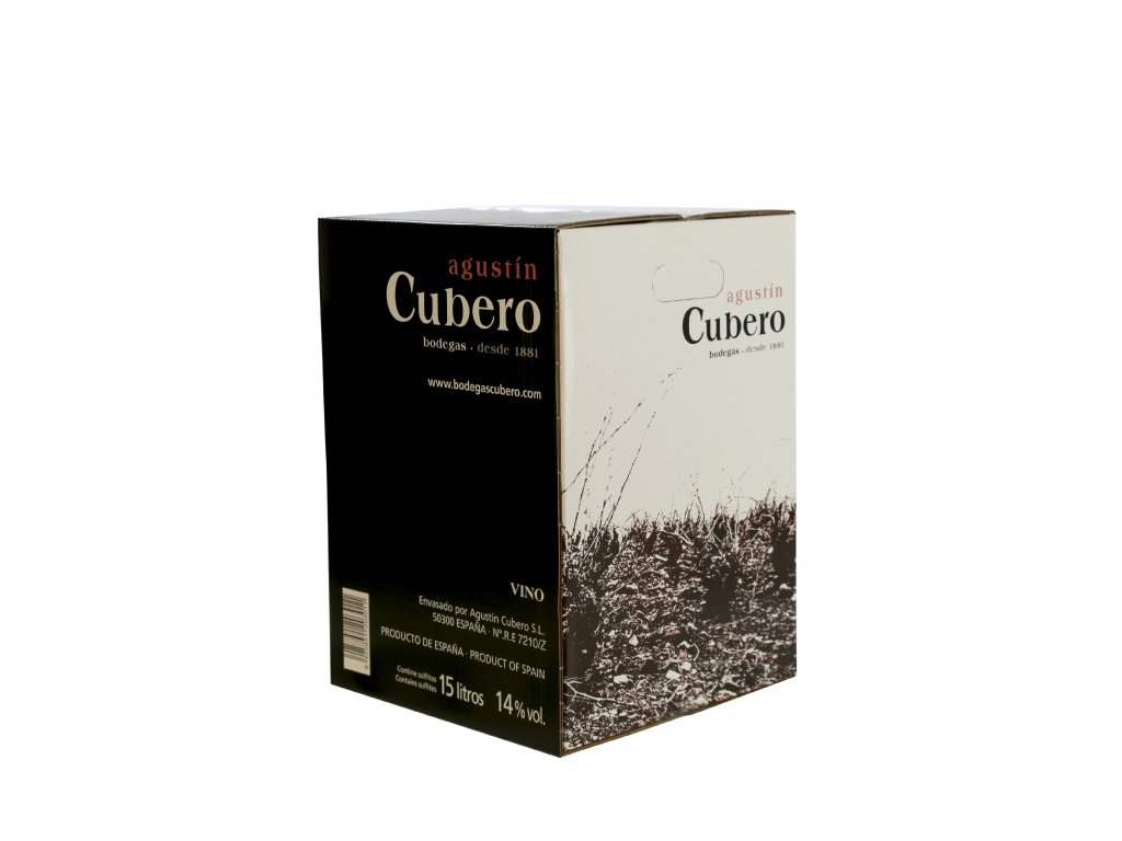 Bodegas Augustín Cubero bag-in-box, bílé víno 15l