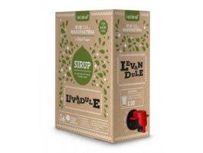 koldokol sirup levandule 3 kg gastro baleni bag in box s vycepnim ventilem