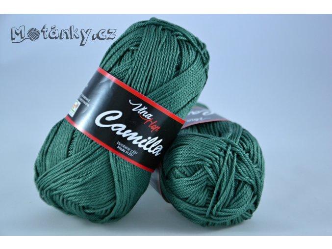 Camilla 8144 lahvově zelená
