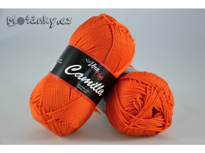 Camilla 8194 tmavě oranžová