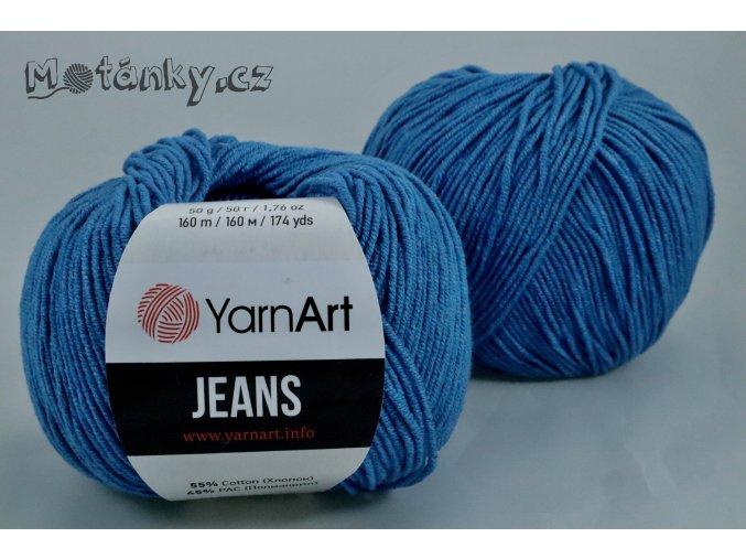 Jeans 16 modrá