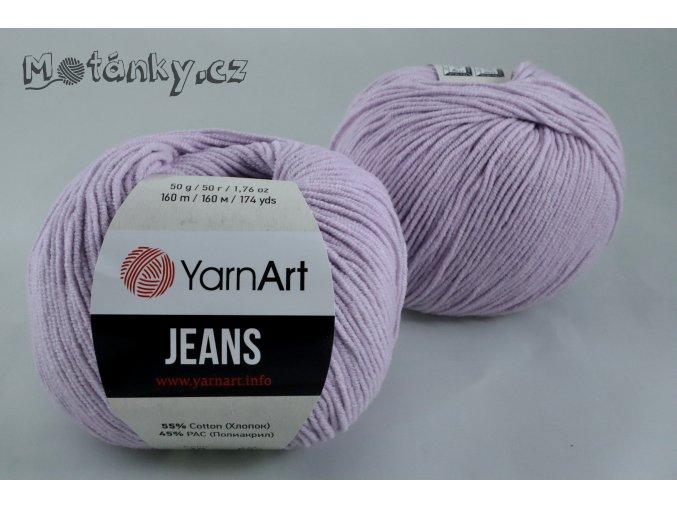 Jeans 19 levandulová