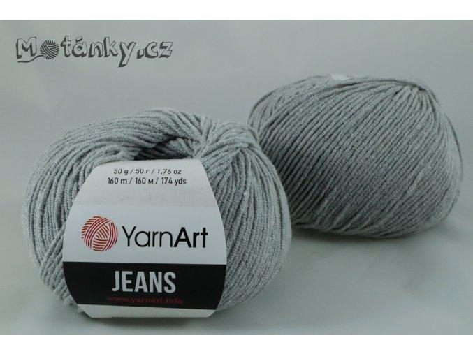 Jeans 46 šedá