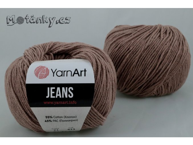 Jeans 71 mocca