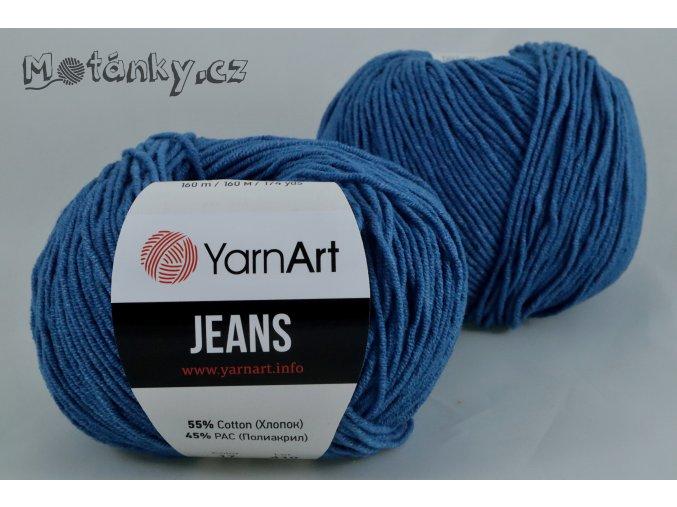 Jeans 17 džínová modrá