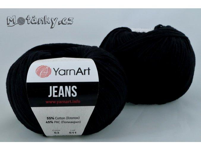Jeans 53 černá