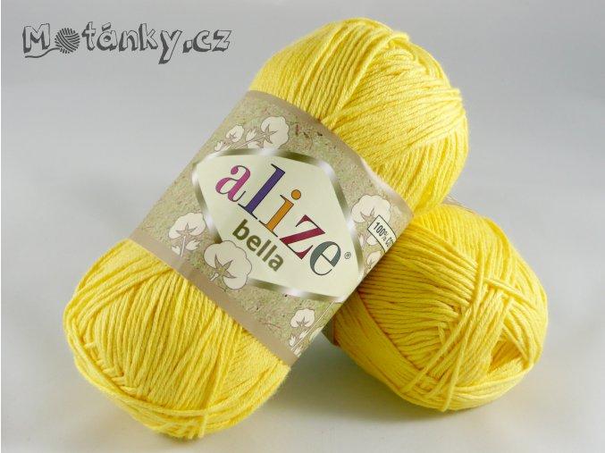 Bella 110 světle žlutá