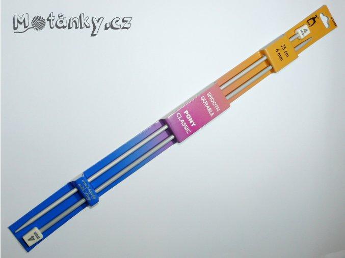 Jehlice rovná 35cm PONY 4,0mm