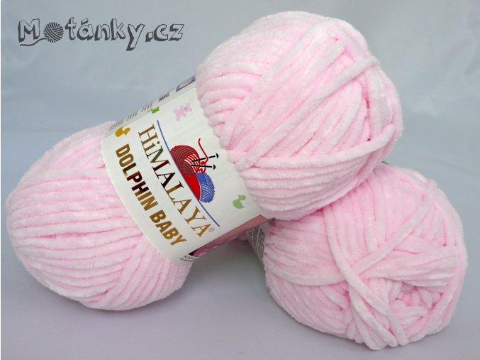 Dolphin Baby 80303 pastelová růžová
