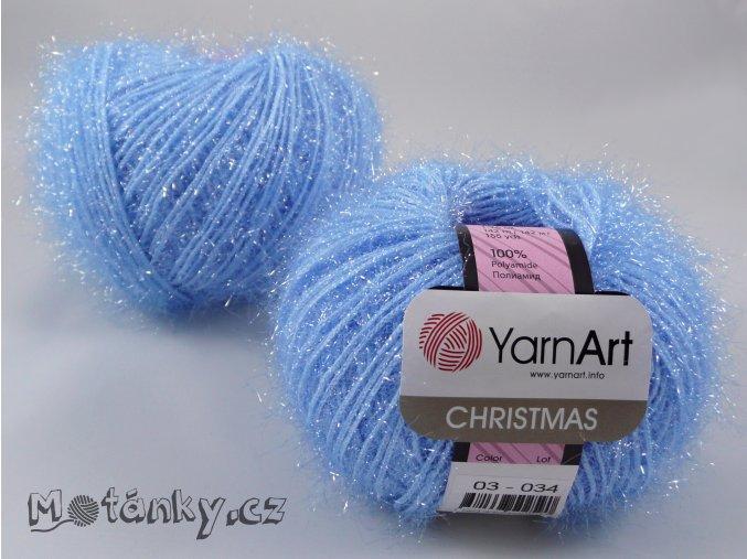 Christmas 03 světle modrá