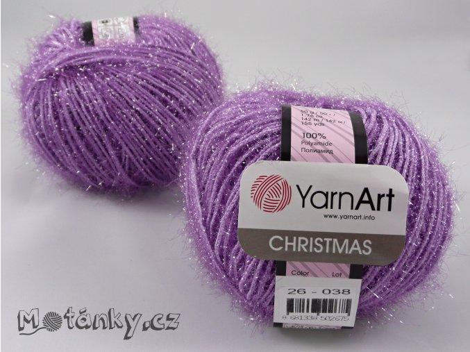 Christmas 26 světle fialová