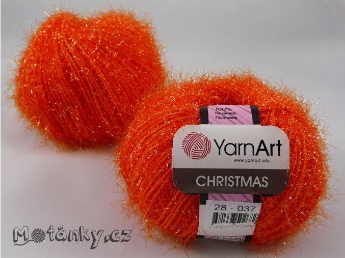 Christmas 28 oranžová