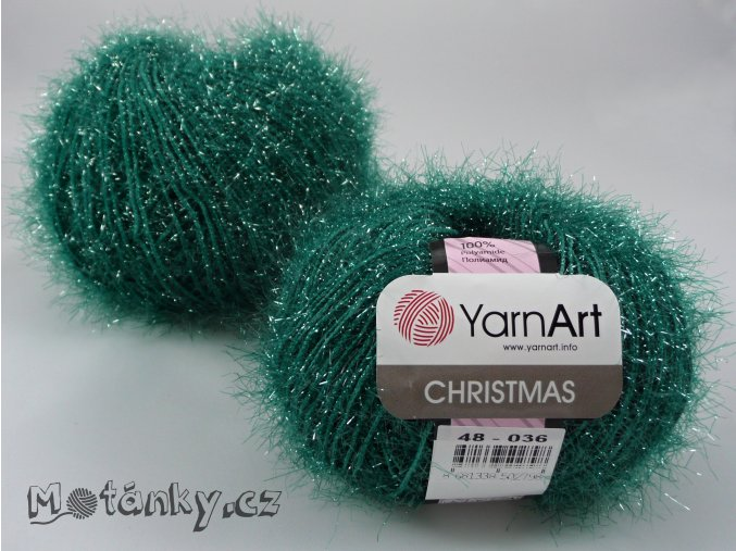 Christmas 48 smaragdová