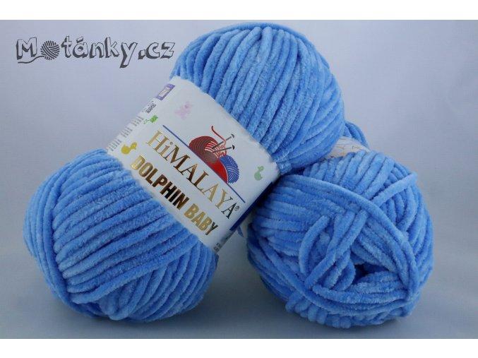Dolphin Baby 80327 blankytně modrá