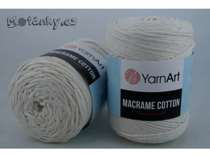 Macrame Cotton 752 smetanová