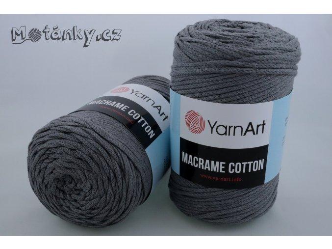 Macrame Cotton 774 šedá