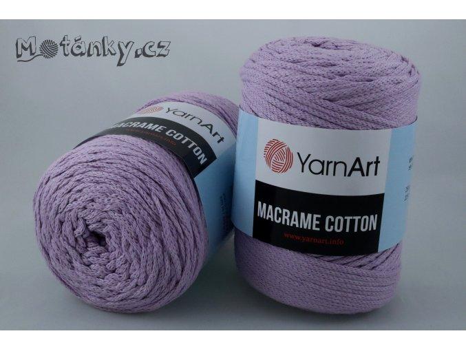 Macrame Cotton 765 levandulová