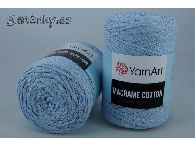 Macrame Cotton 760 světle modrá