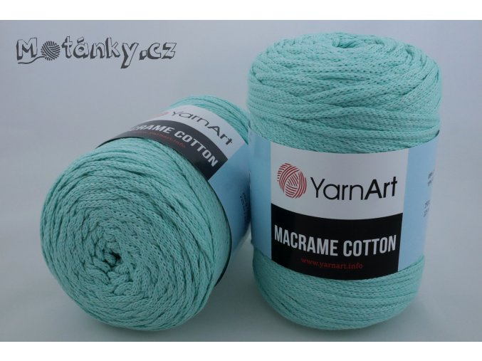 Macrame Cotton 775 mint