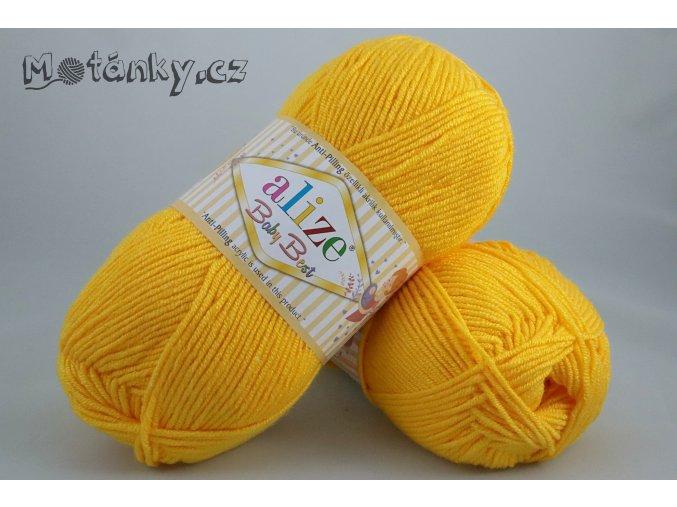 Baby Best 216 tmavě žlutá