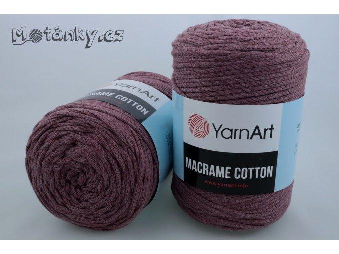Macrame Cotton 792 starofialová