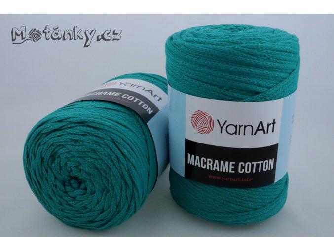 Macrame Cotton 783 smaragdová