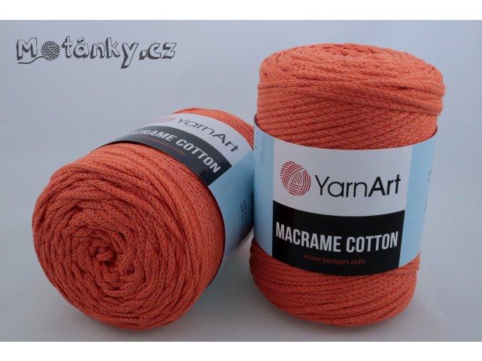 Macrame Cotton 770 oranžová