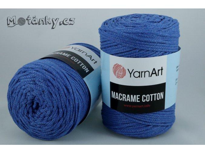 Macrame Cotton 786 blankytně modrá