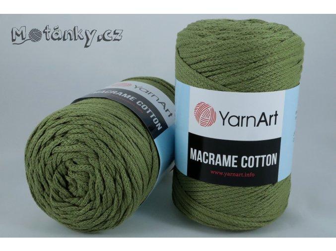 Macrame Cotton 787 khaki