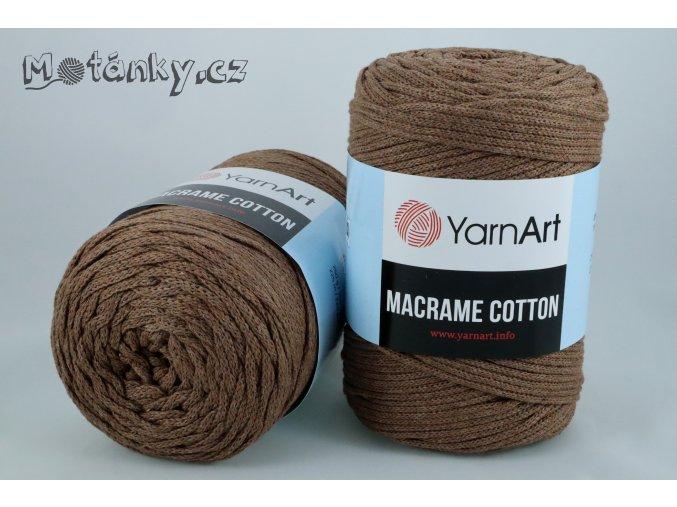 Macrame Cotton 788 čokoládově hnědá