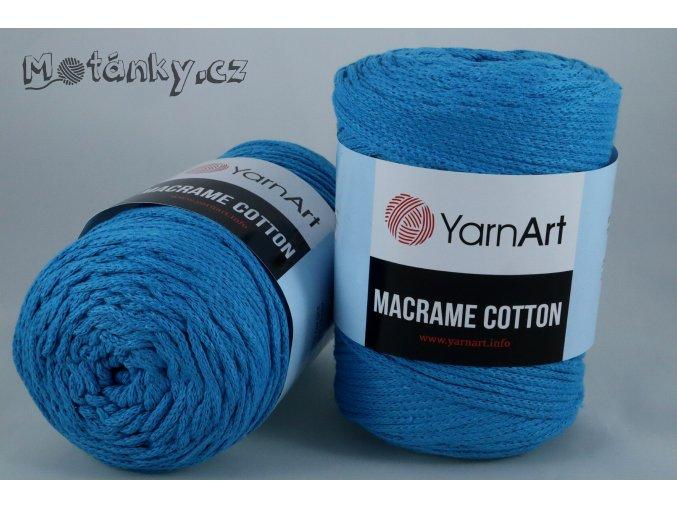 Macrame Cotton 780 tyrkysová