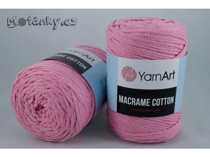 Macrame Cotton 779 růžová