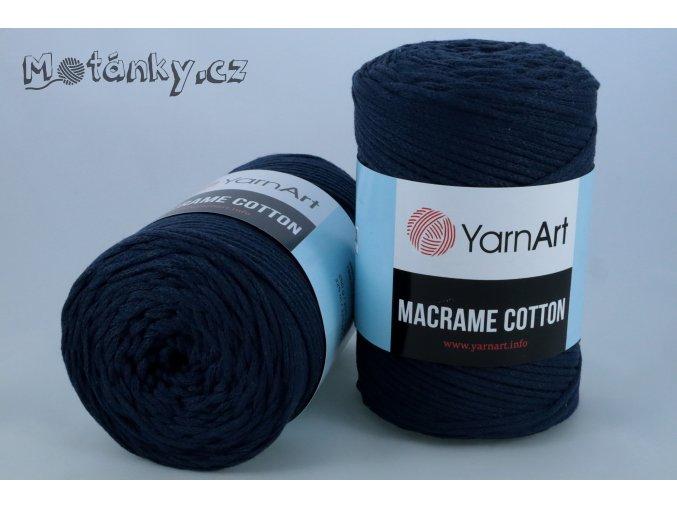 Macrame Cotton 784 indigová