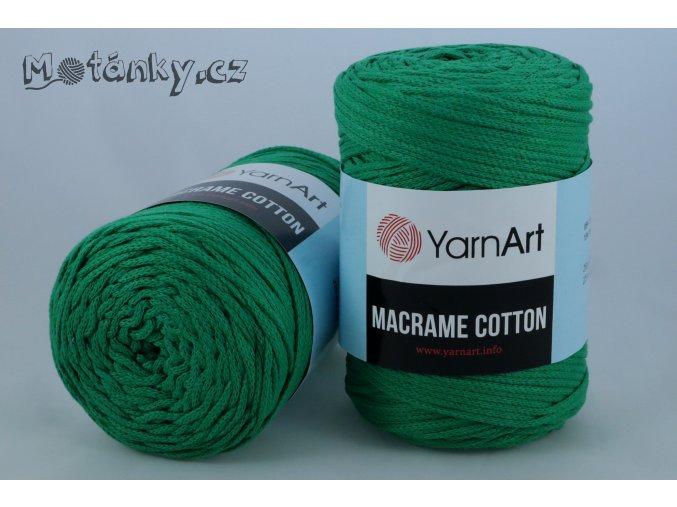 Macrame Cotton 759 zelená