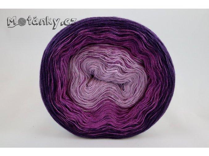 Duhovka sv.fialová, fialová, tm.fialová 750m