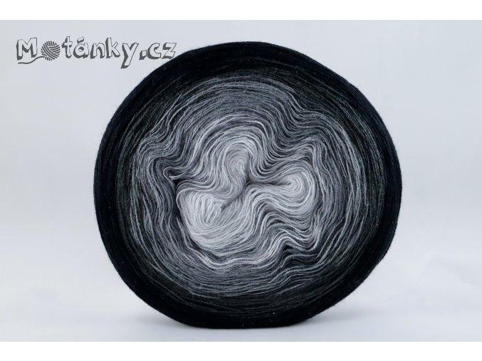 Duhovka sv.šedá, šedá, antracit, černá 750m