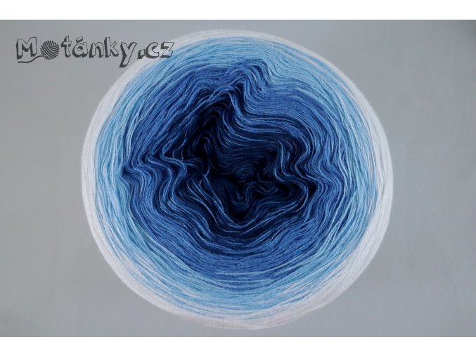 Duhovka petrolej, modrá, sv.modrá, bílá 750m