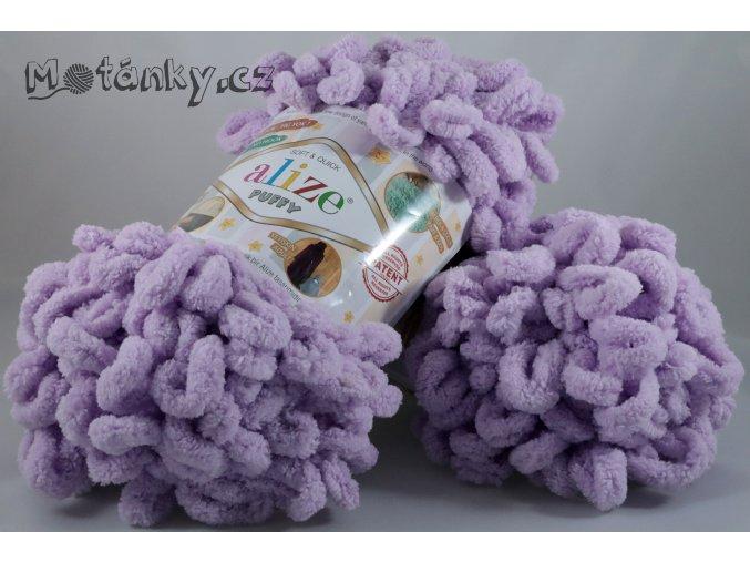 Puffy 027 levandulová