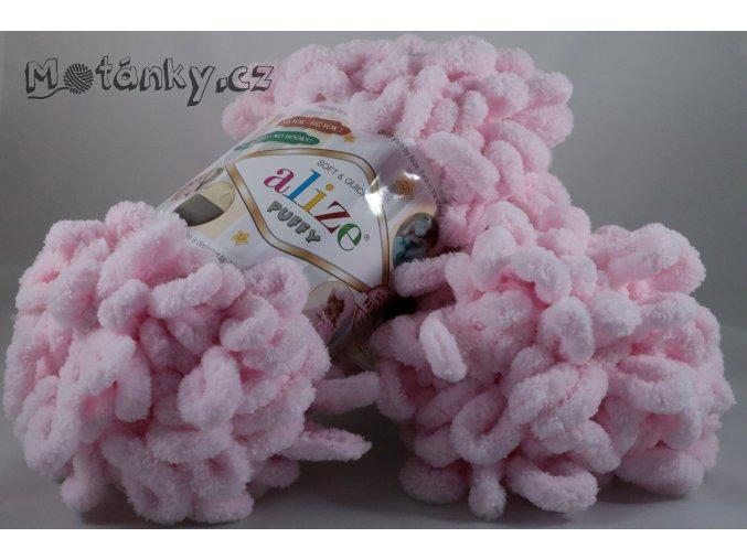 Puffy 031 světle růžová