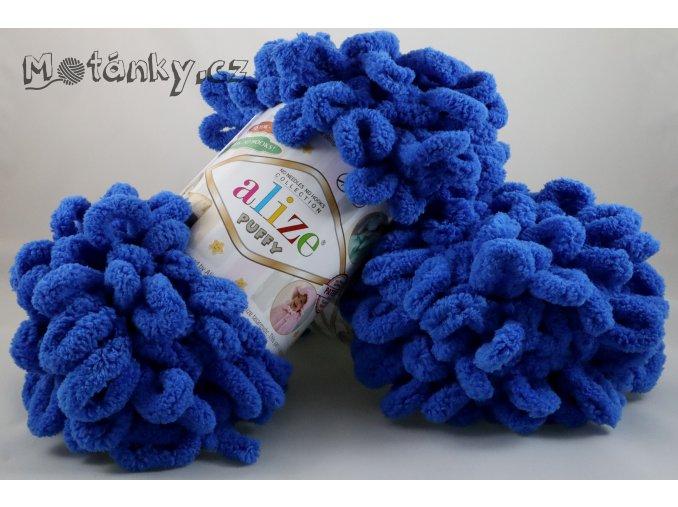 Puffy 141 královská modrá