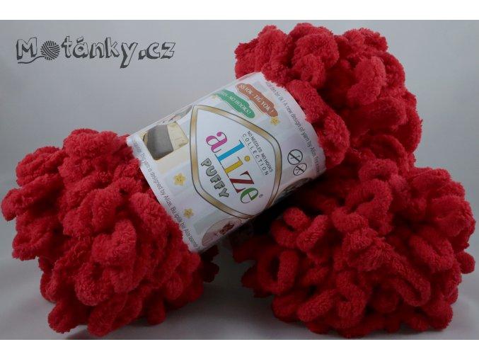 Puffy 056 červená
