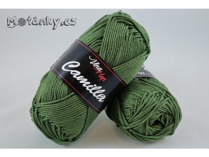 Camilla 8163 olivově zelená