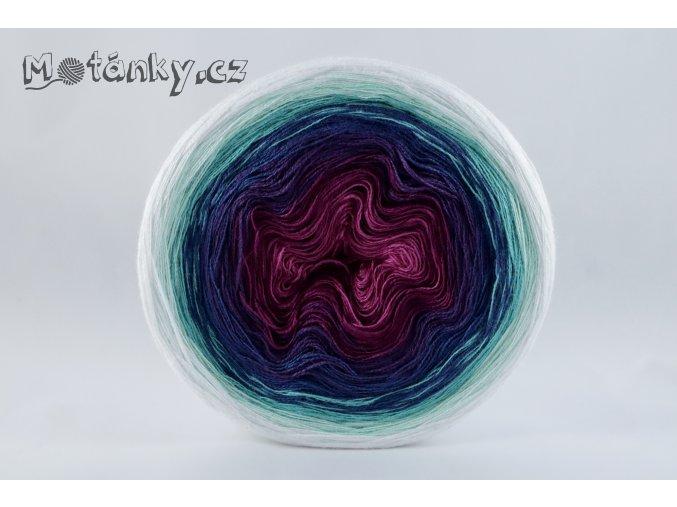 Duhovka fuchsie, ostružina, tm.fialová, petrolej, opal, mint, bílá 900m