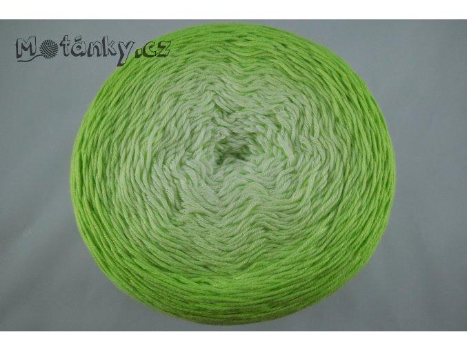 Bella ombre batik 7412 jarní zelená