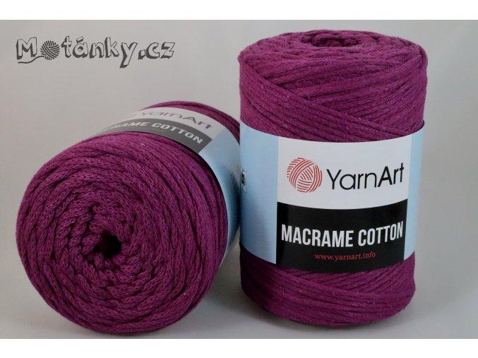 Macrame Cotton 777 purpurová
