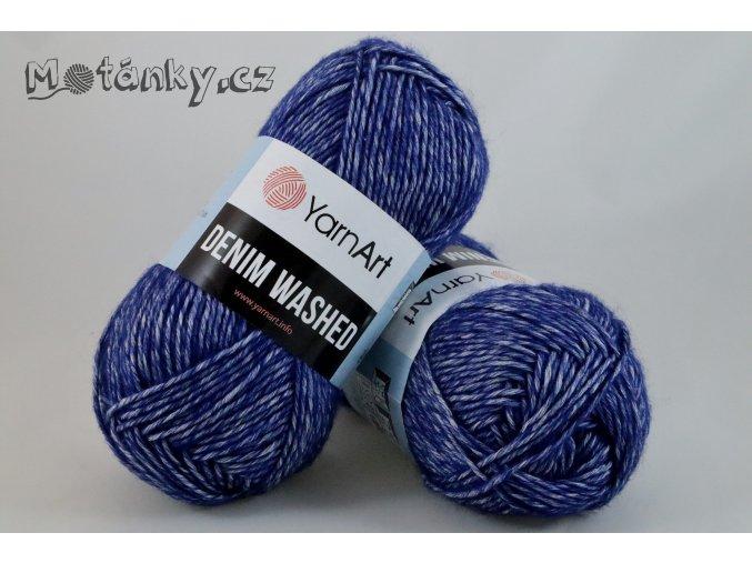 Denim Washed 925 tmavě modrá
