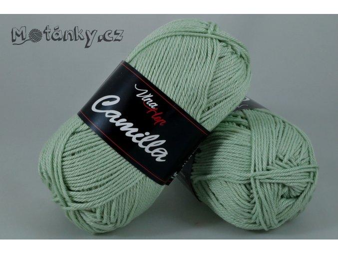Camilla 8165 pastelově olivová