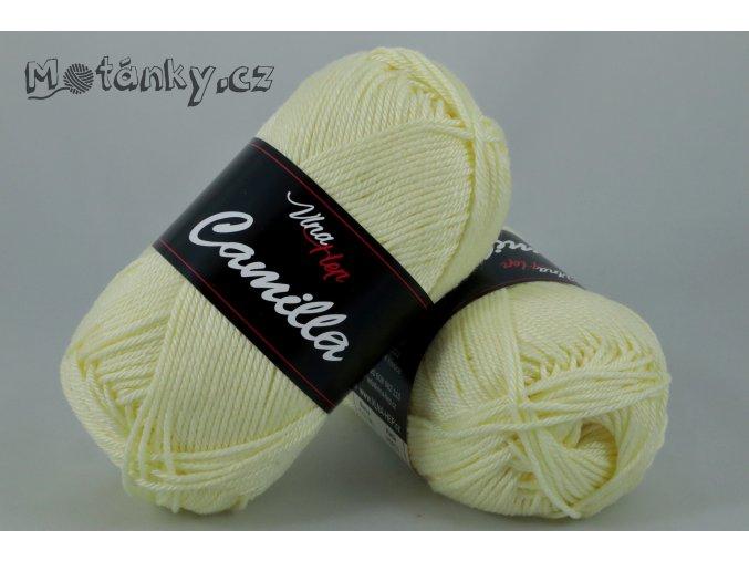 Camilla 8175 pastelově žlutá