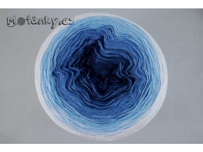 Duhovka petrolej, modrá, sv.modrá, bílá 900m